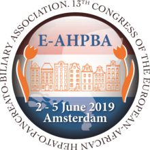 2019 E-AHPBA Congress, Amsterdam, The Netherlands