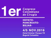 1st Colombian Congress of Hepato Pancreato Biliary Surgery