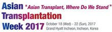 Asian Transplantation Week 2017